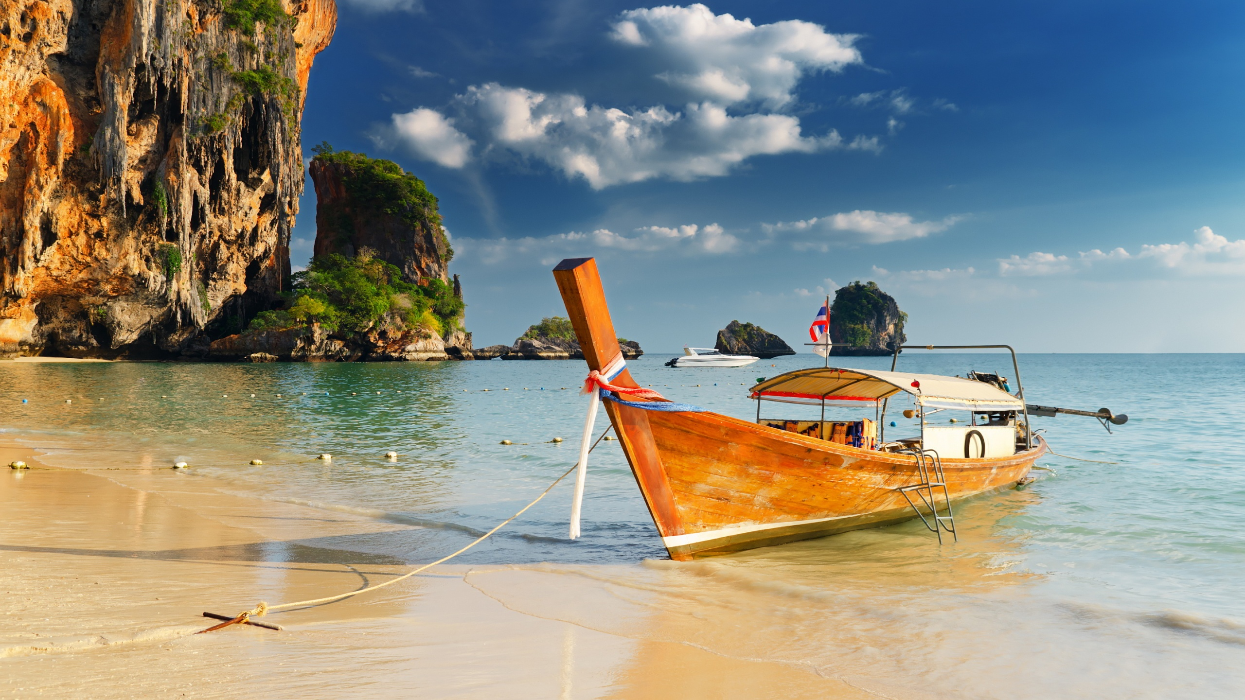 Thailand Beaches And Islands HD Wallpaper Background Images 2560x1440