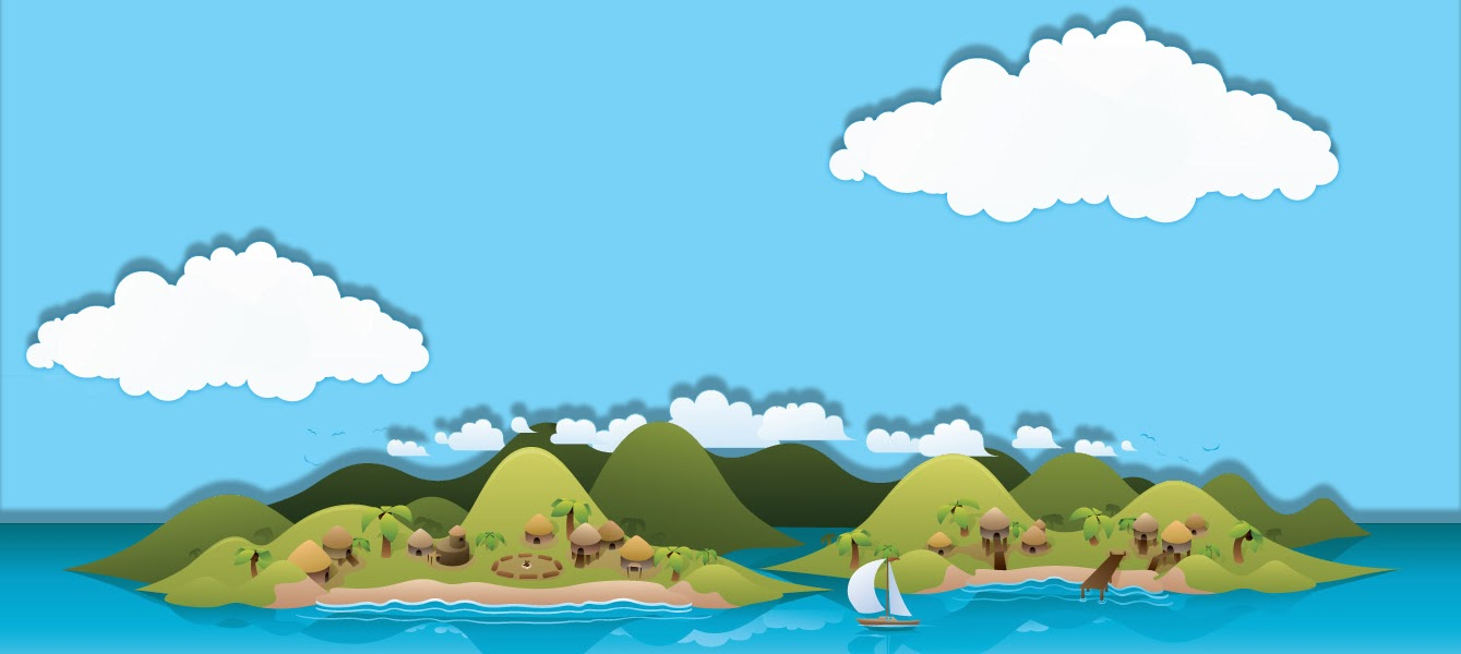 vectorgraphicscartoonIslandwallpaperdesktopbackgroundimagejpg 1339x600