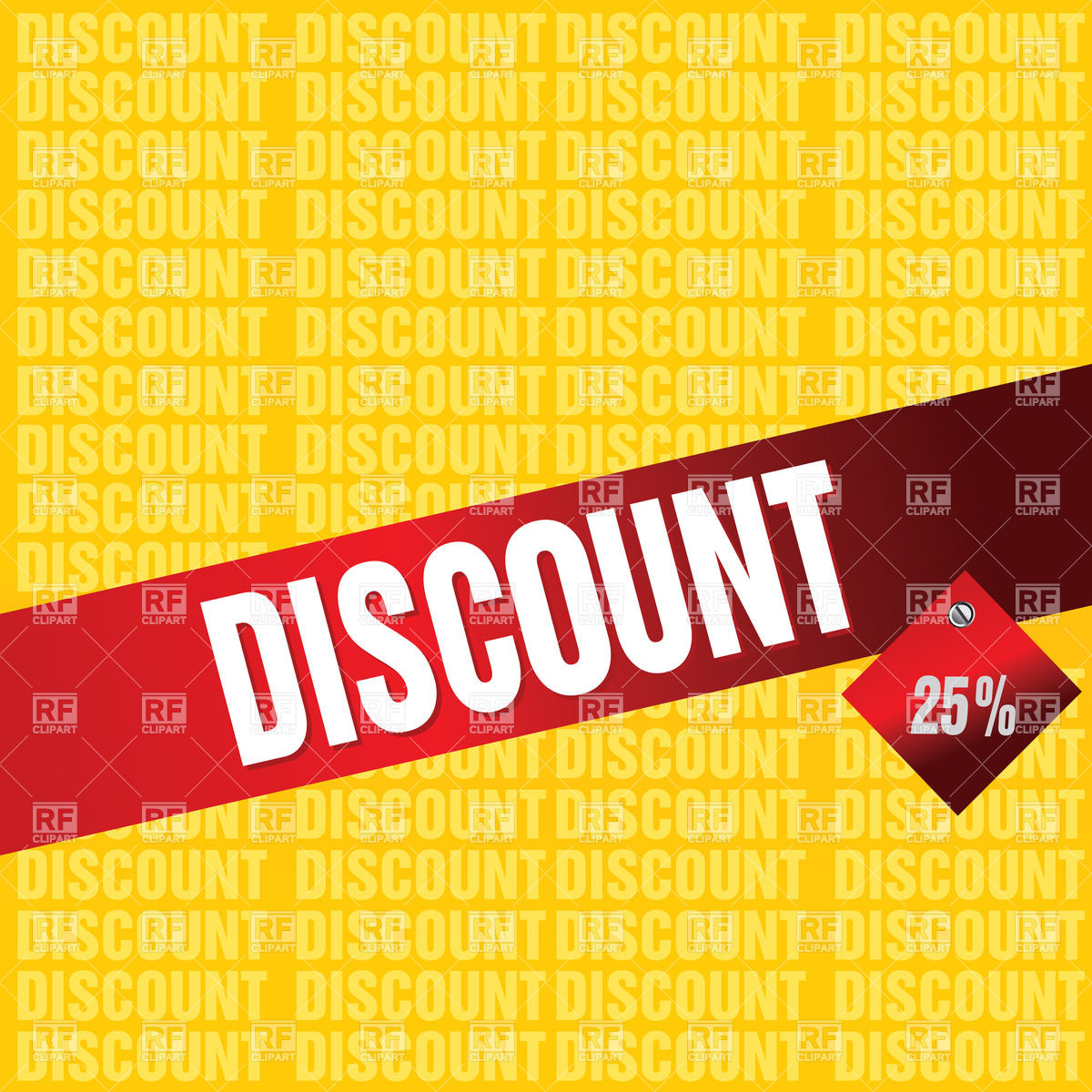 Discount background for sale Vector Image of Design elements 1200x1200