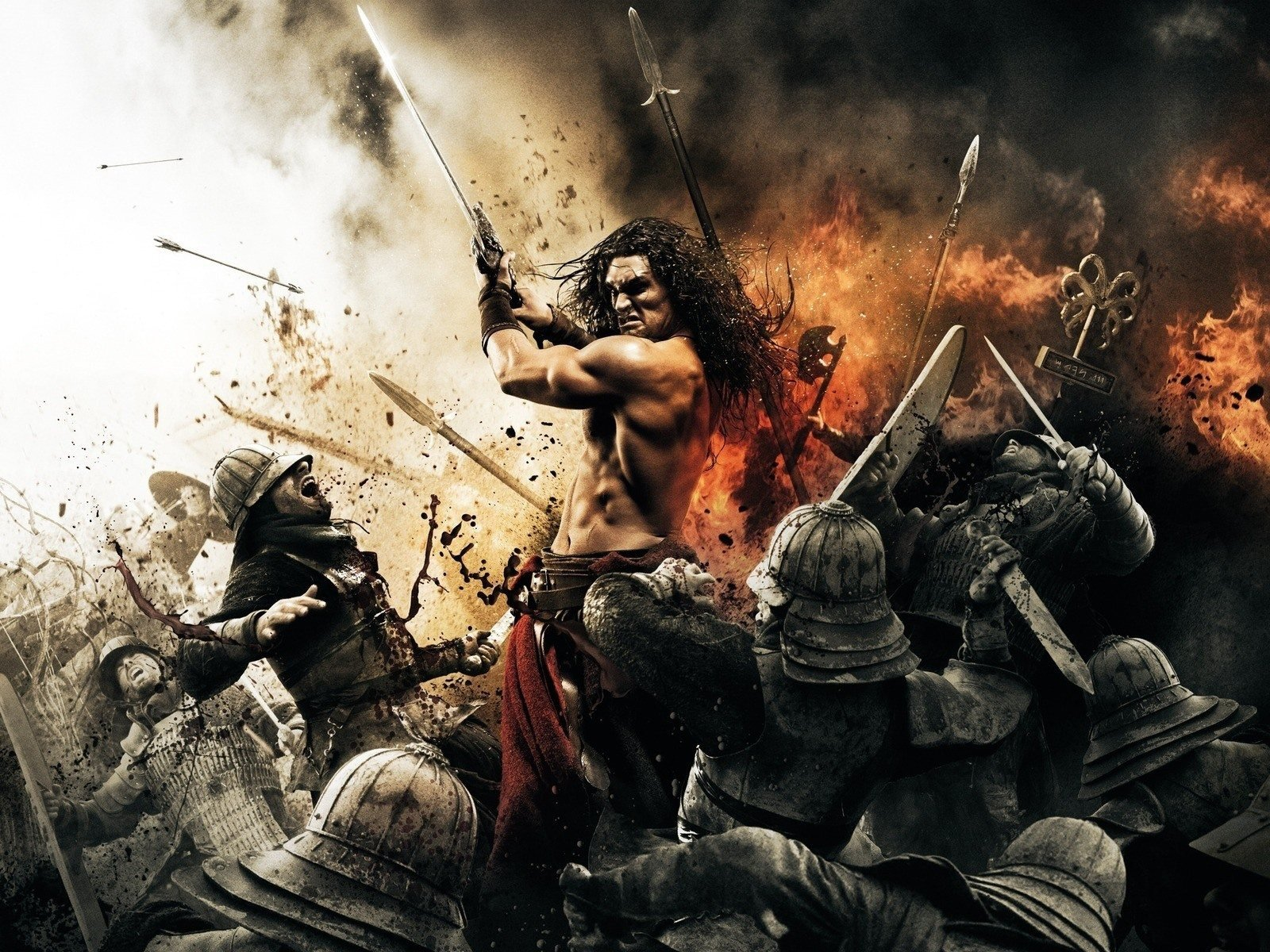 Conan the Barbarian movie wallpaper 1600x1200 Movie Wallpapers 1600x1200
