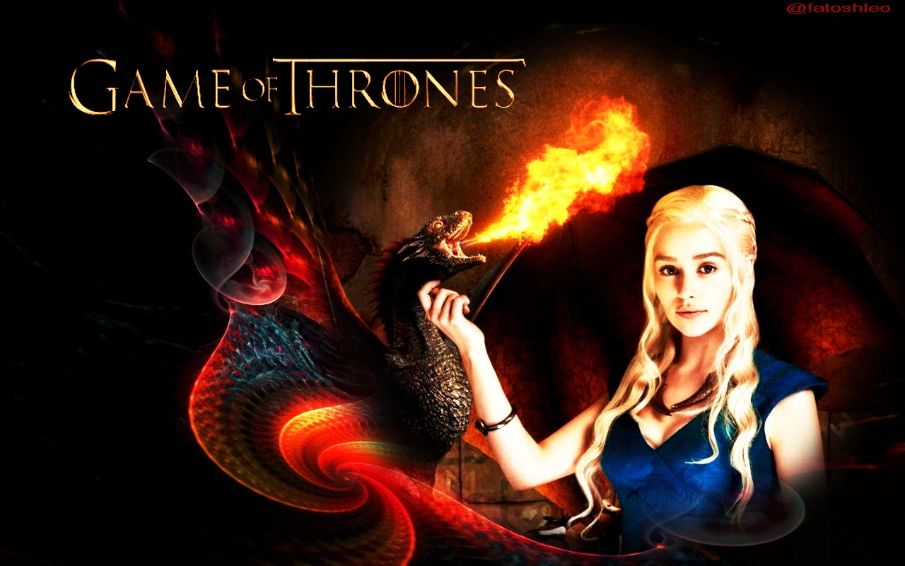 Game Of Thrones Wallpaper Dragon Random Celebs 1280x800