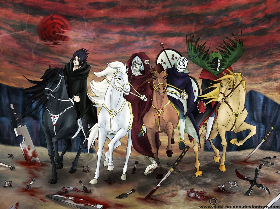 Four Horsemen of the Apocalypse by Neo N 900x672