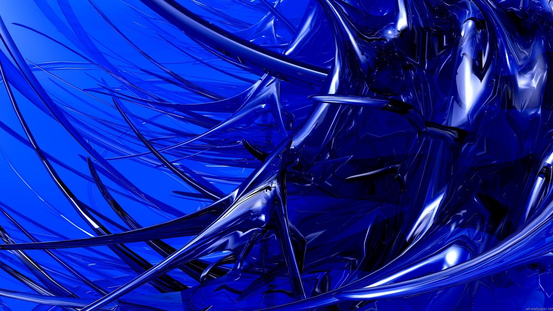 Hd Wallpaper 1920x1080 Black Blue: HD Wallpaper 1080p Blue