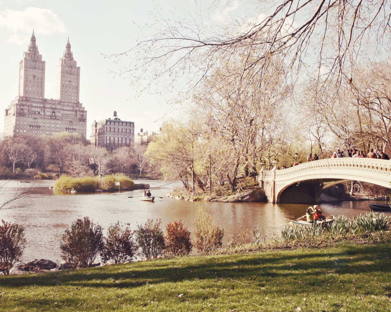 Free Download New York City Photo Bow Bridge Print Central