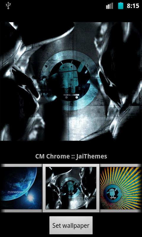 Cyanogen Wallpapers 480x800