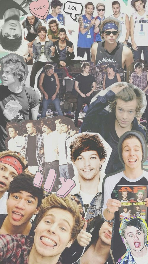 One Direction5sos wallpaper sexiest crap ever 500x888