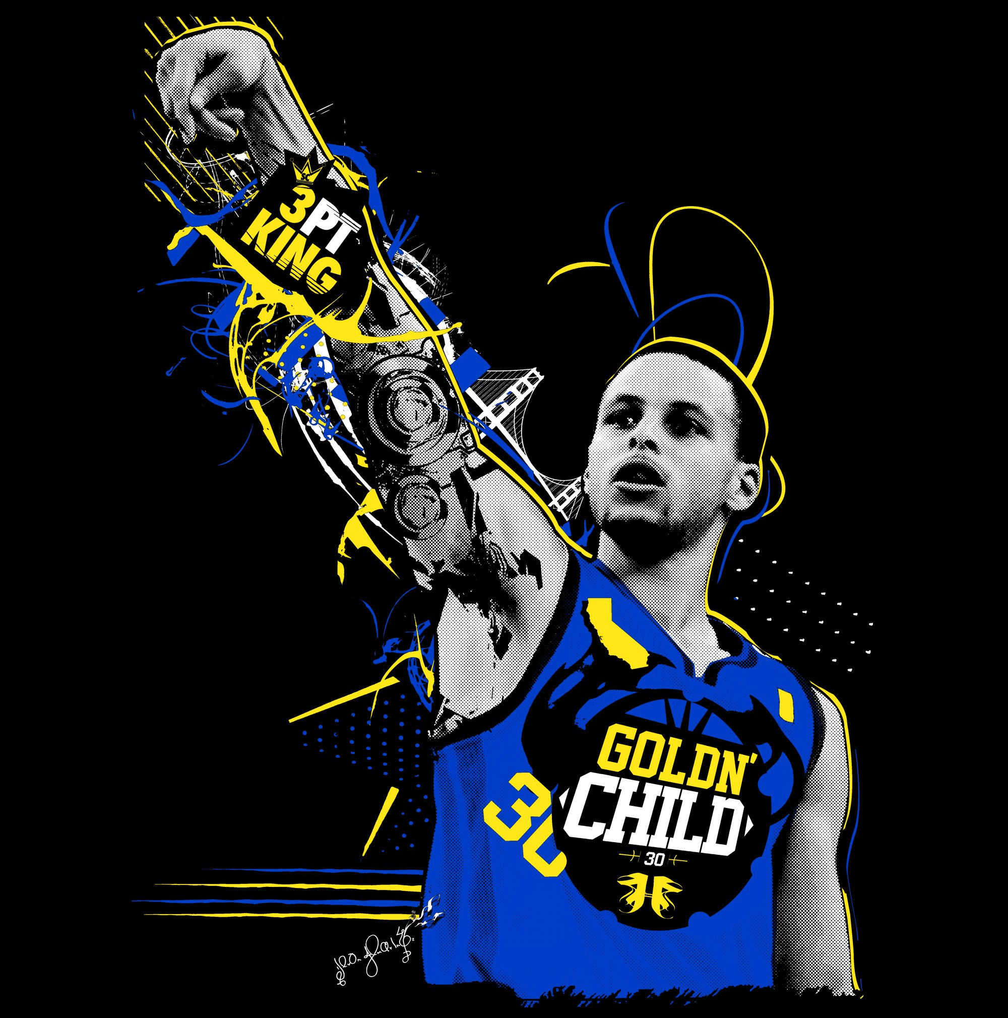 NBA Wallpaper Stephen Curry