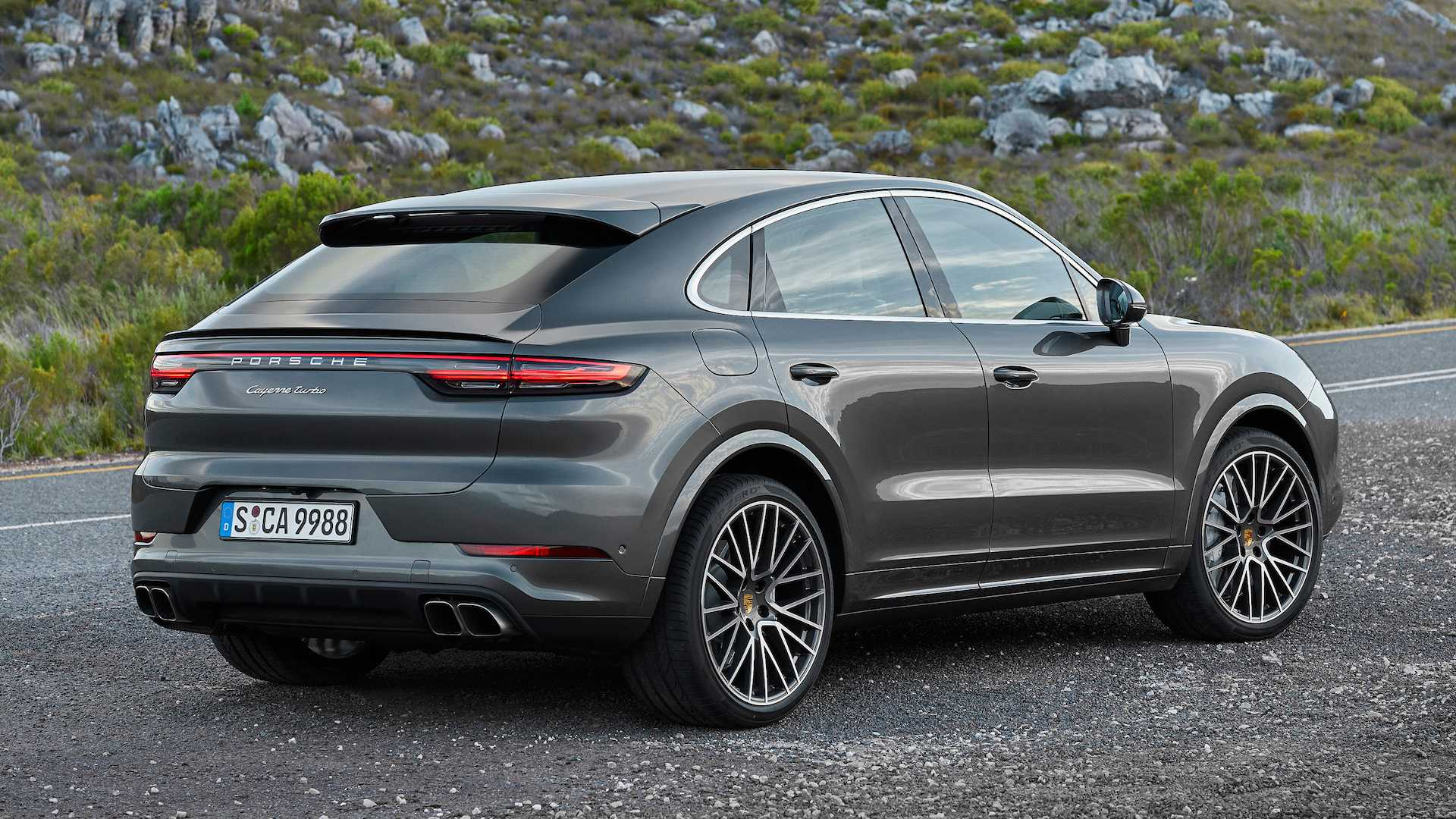 Porsche Cayenne Coupe Debuts As Prettiest Crossover Coupe Yet 1920x1080