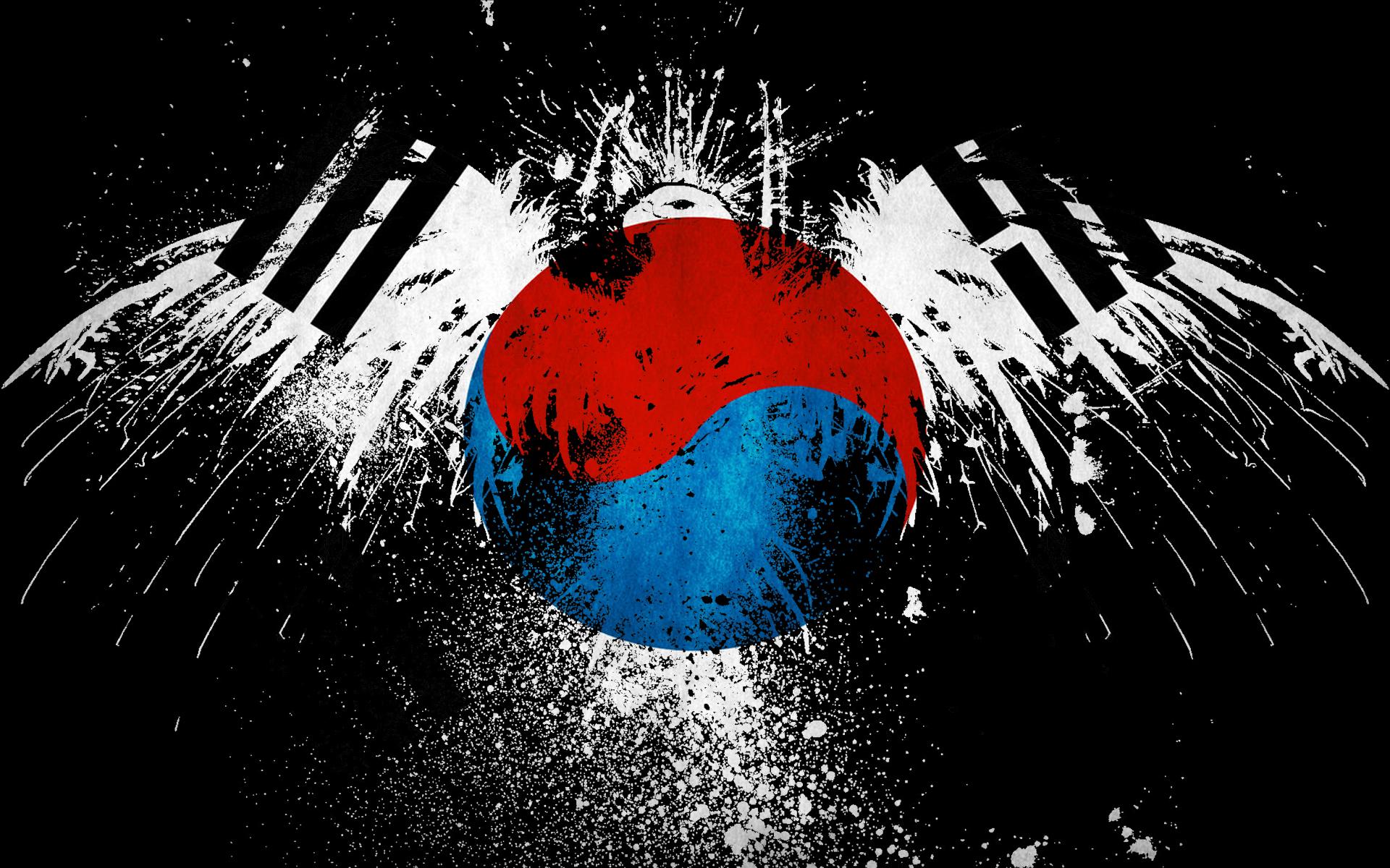 Korea Wallpaper: Korean Flag Wallpaper