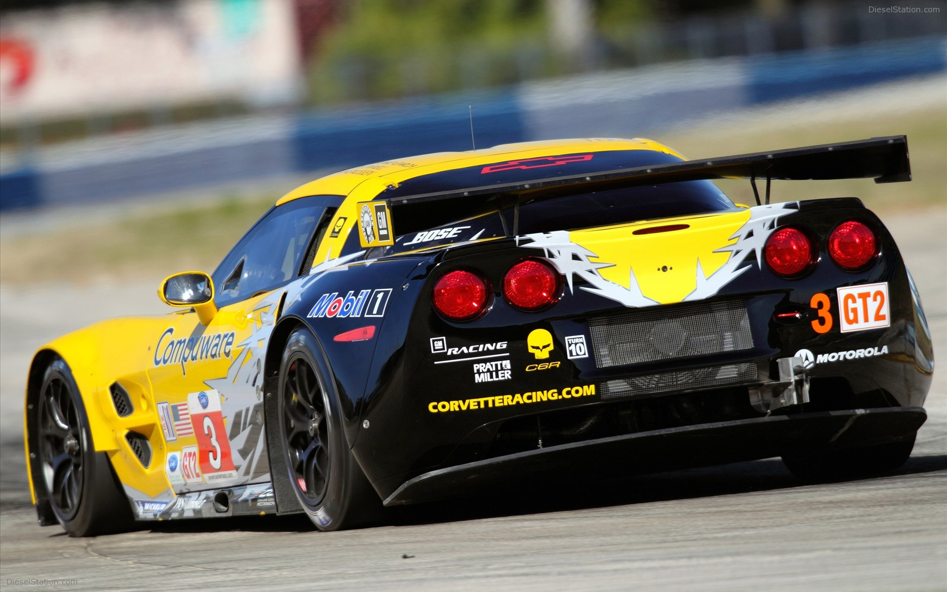 Corvette Sebring Racing 2010 Widescreen Exotic Car Wallpapers 08 of 1920x1200