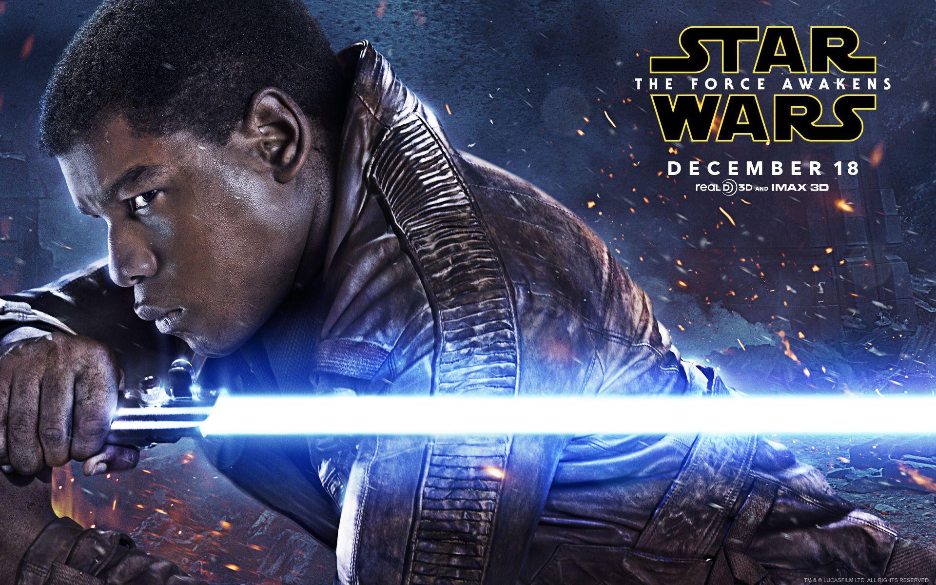 Boyega as Finn Star Wars The Force Awakens Live HD Wallpapers 1920x1200