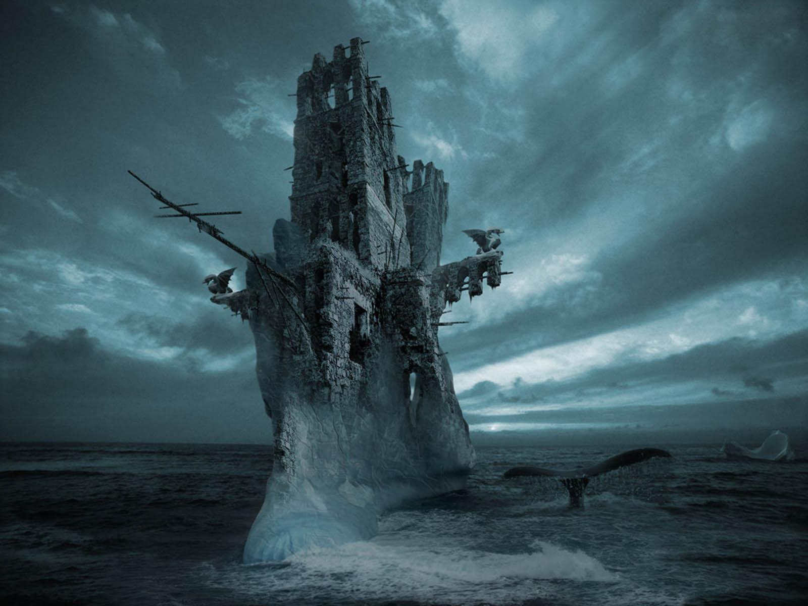 Ghost Ship Desktop Wallpaper 1600x1200