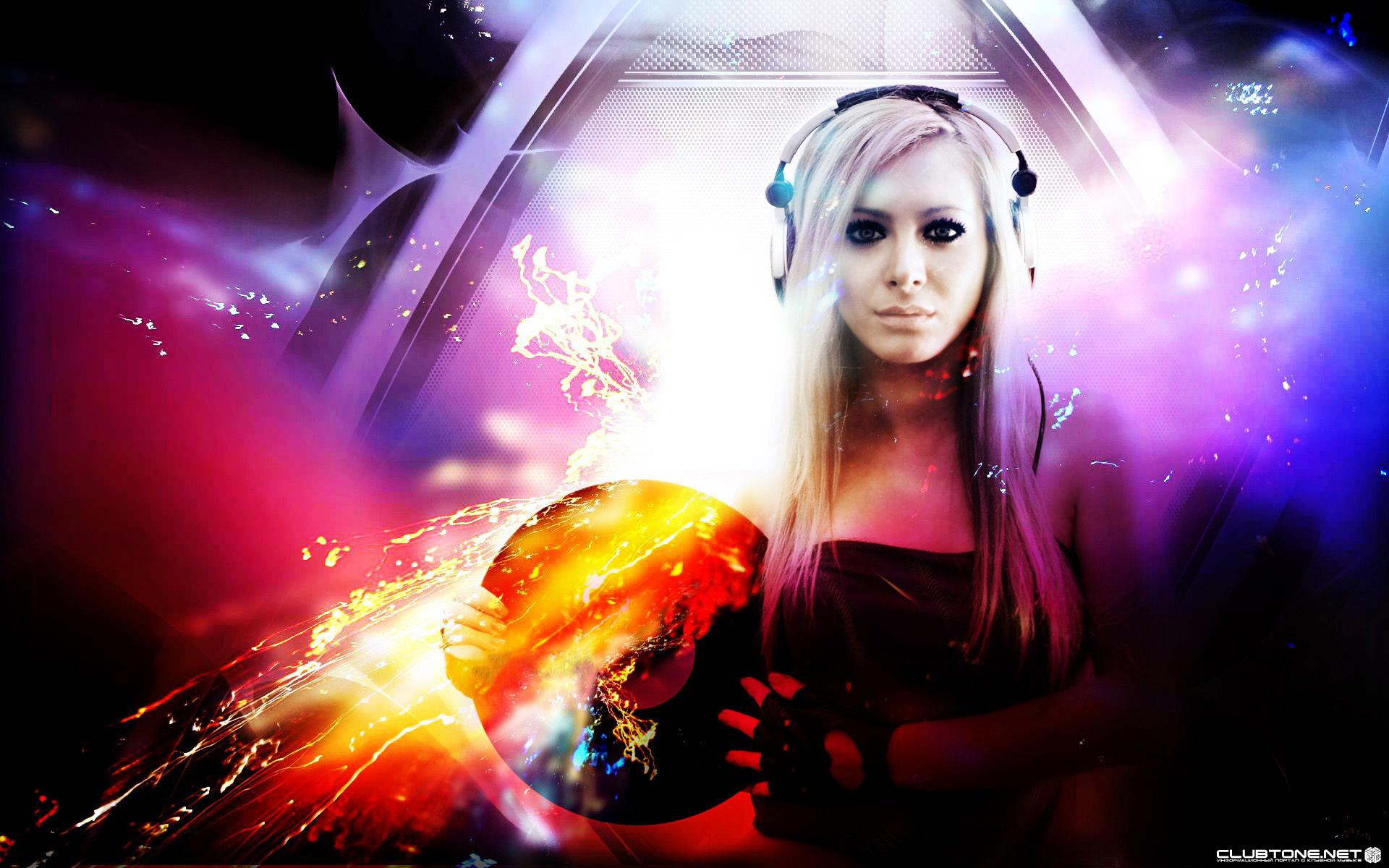 Girl DJ Wallpaper HD 1920x1200