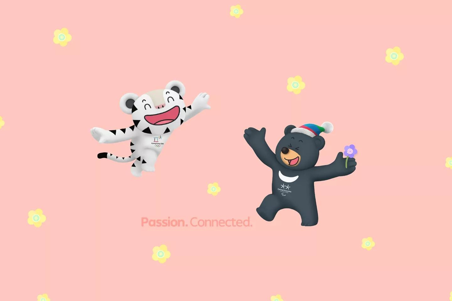 Happy smile passionconnected pyeongchang 2018 Olympic 1440x960