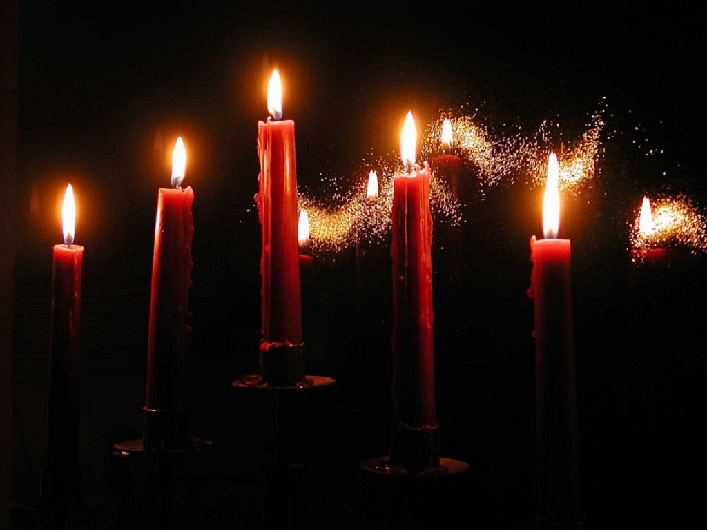 Christmas Candles wallpaper   ForWallpapercom 1024x768