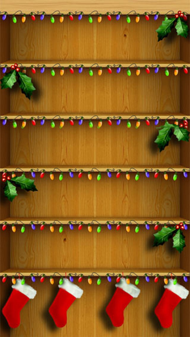 iPhone 5 Wallpapers   Shelves 640x1136