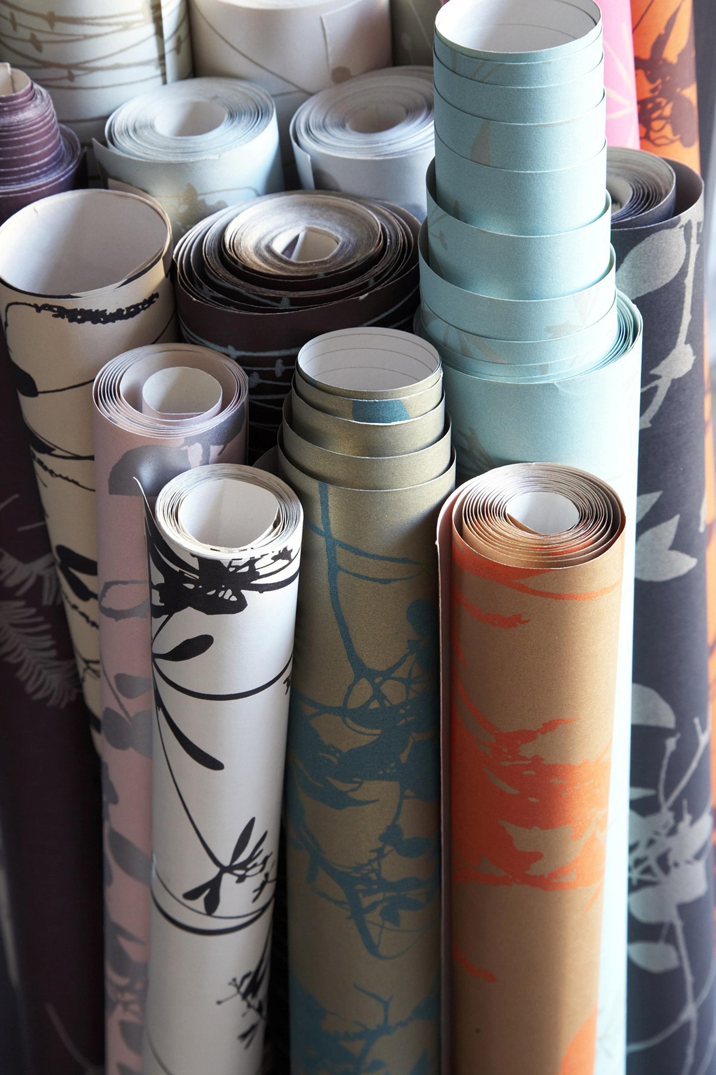 Rolls of wallpaper wallpapersafari for Wallpaper roll