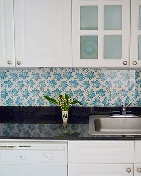 backsplash ideas you can try 15 DIY Kitchen Backsplash Ideas via 475x591