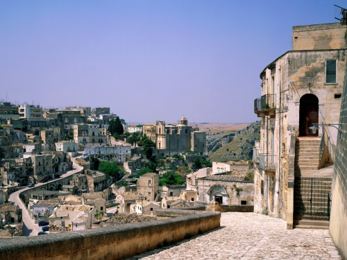 italy screensaver screensavers download i sassi houses matera italy 500x375