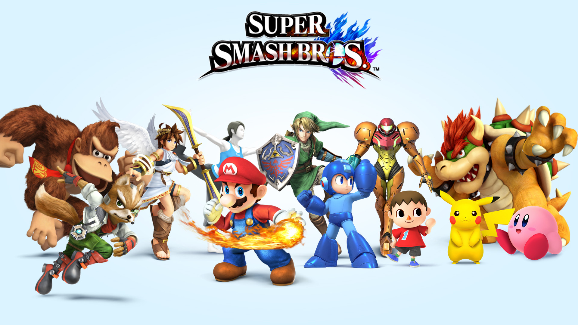 45 Super Smash Bros Hd Wallpaper On Wallpapersafari
