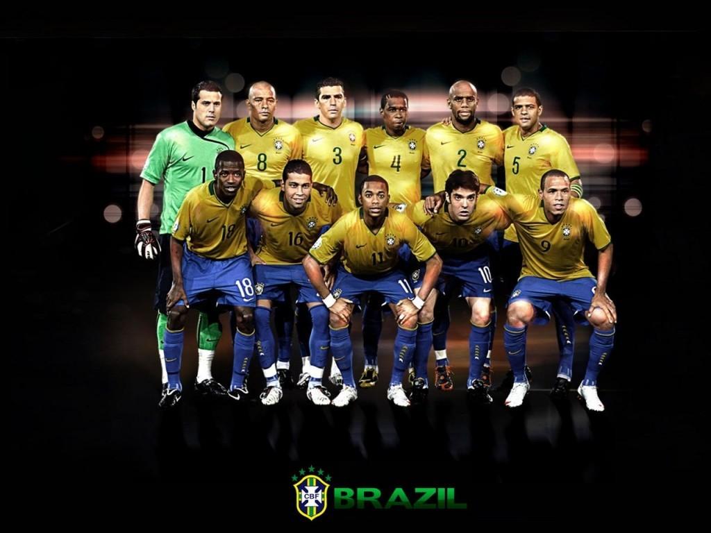 National Football Team Brazil Soccer 1024768   Football Wallpaper 1024x768
