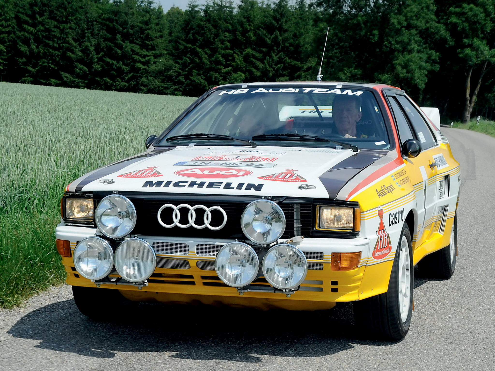 Audi Quattro Group B Rally Car Wallpapers Cool Cars Wallpaper 2048x1536