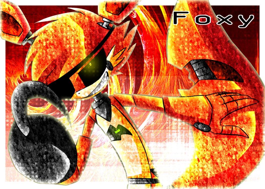 FNaF    Foxy by Dada Wolf 1057x755