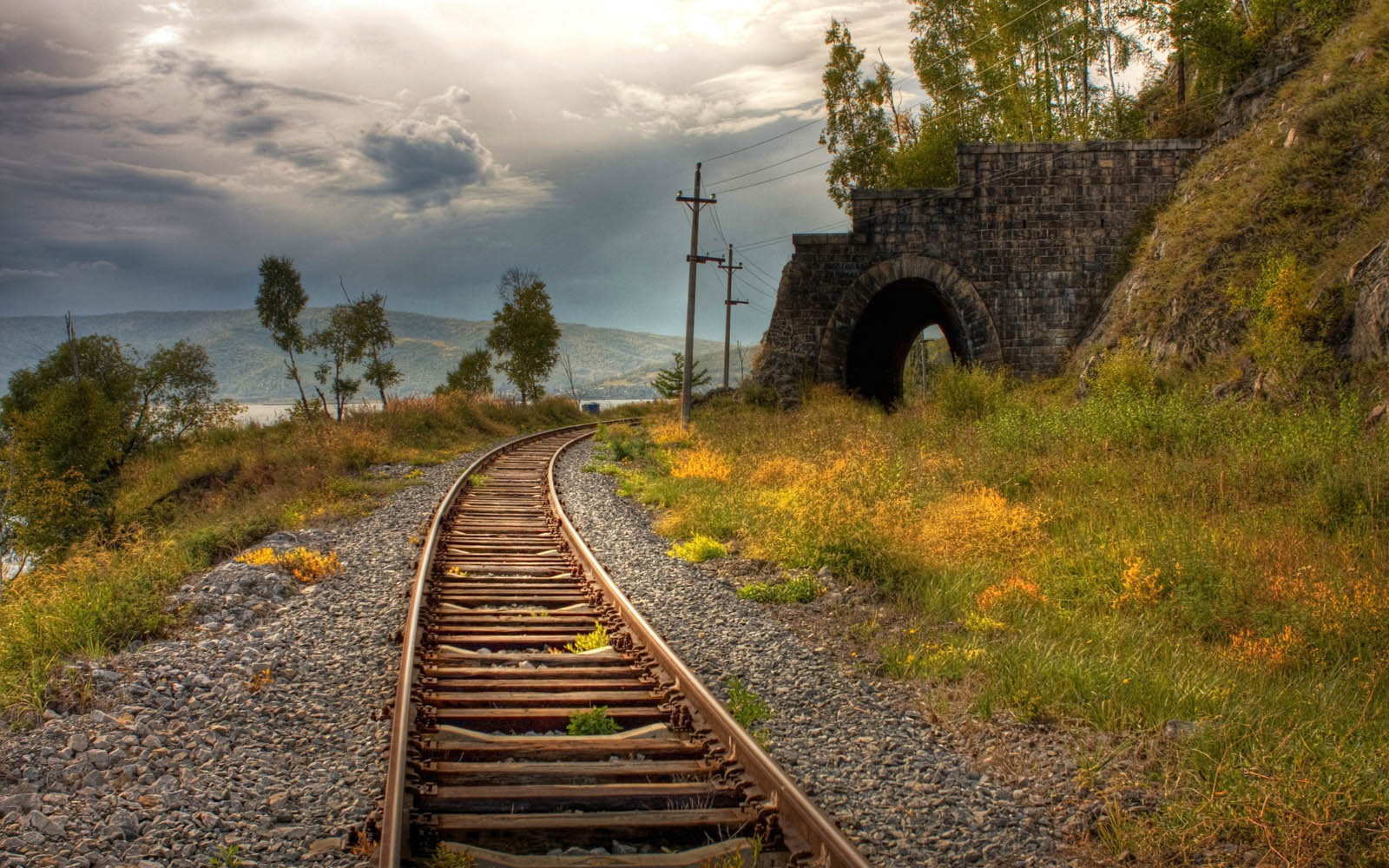 Tag Railway Line Wallpapers Backgrounds Photos Images and Pictures 1600x1000