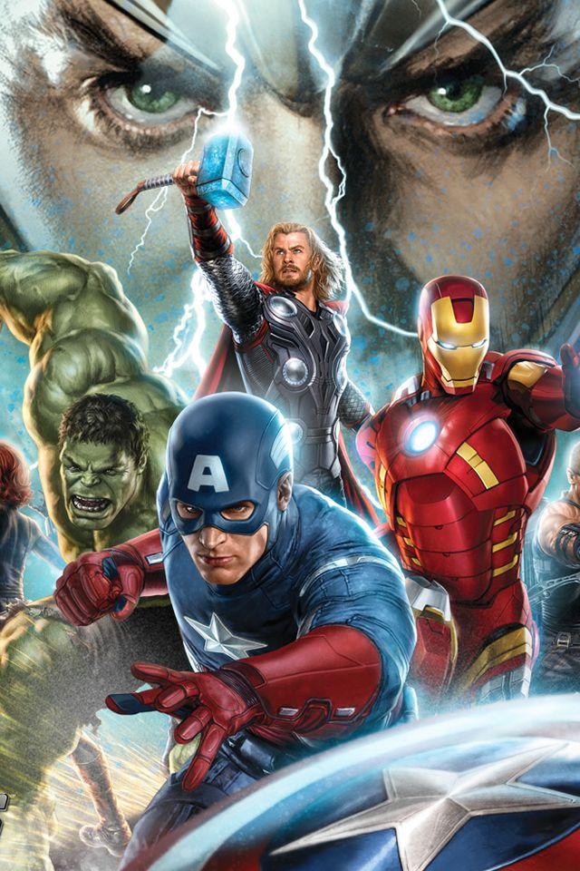 The Avengers Wallpaper HD para iPhone 4 y 4s   Digital Weeks 640x960