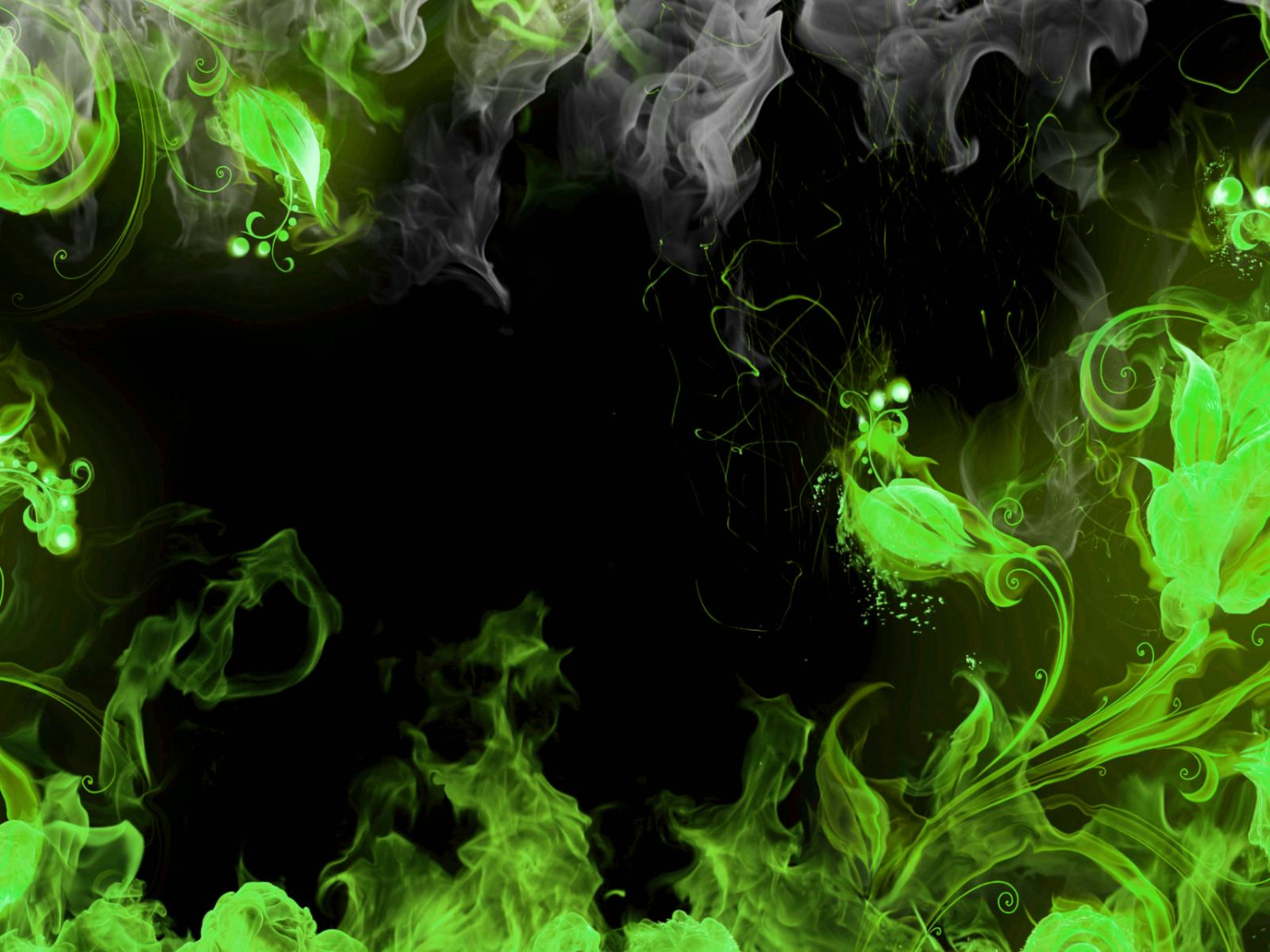 green abstract grey ultra or dual high definition 1600x1200