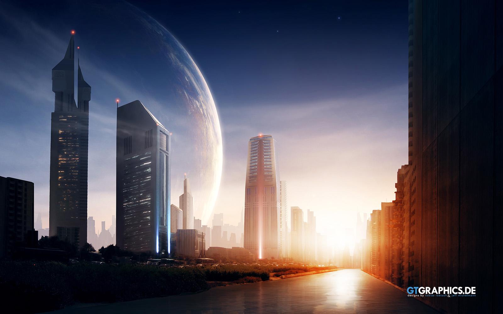 Future city hd wallpaper future city pictures cool 1600x1000