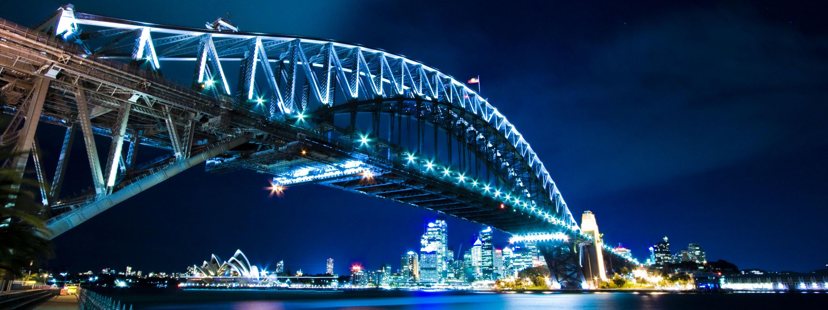 Sydney Harbour Bridge Wallpapers HD Wallpapers 3200x1200