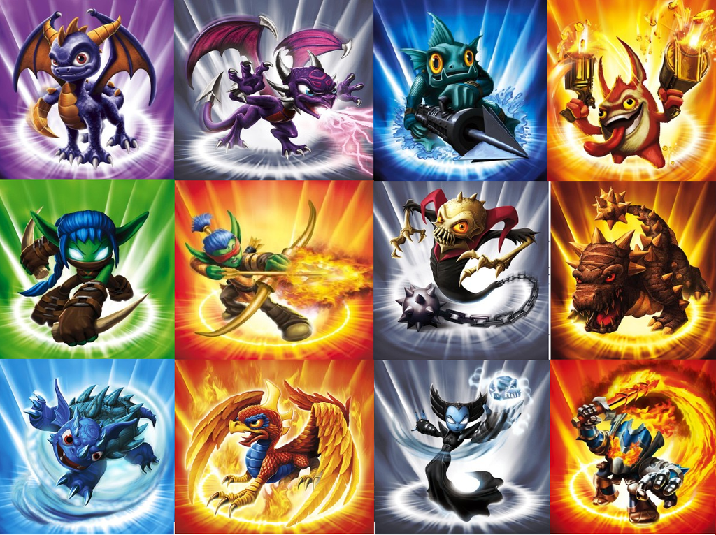 Skylanders Desktop Wallpaper 1 1024x766