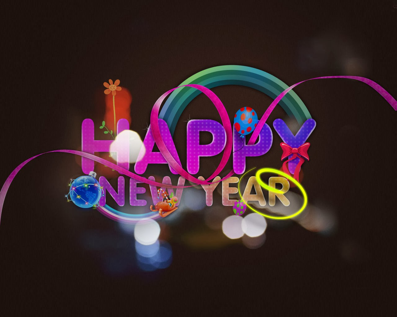 Beautiful Wallpapers For Desktop Happy New Year Wallpapers 1280x1024
