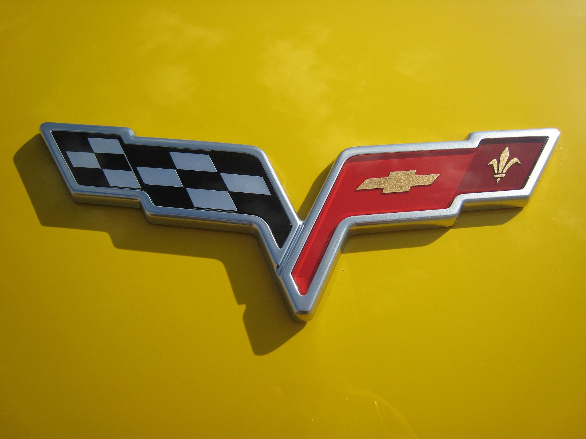 2016 Corvette Z07 >> Corvette C6 Logo Wallpaper - WallpaperSafari