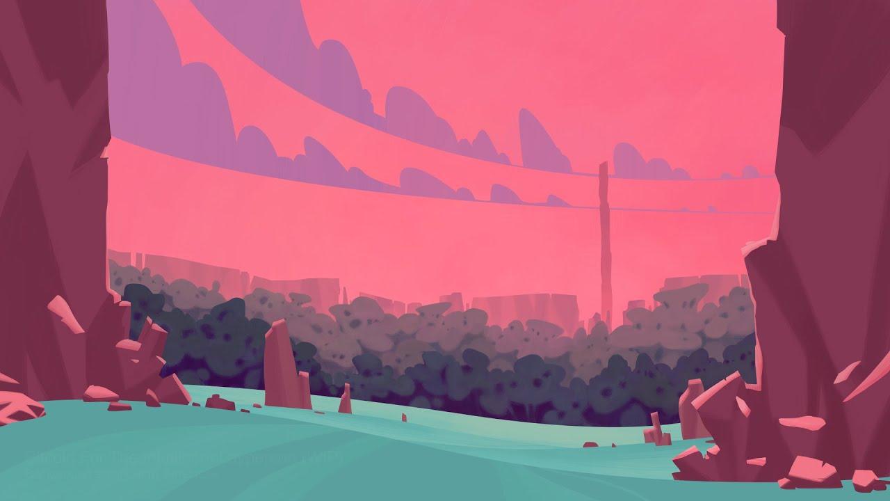 Background art timelapse 1280x720