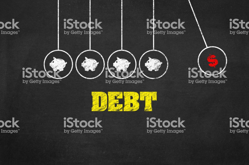 Debt Background Stock Photo More Pictures of Backgrounds   iStock 1024x679