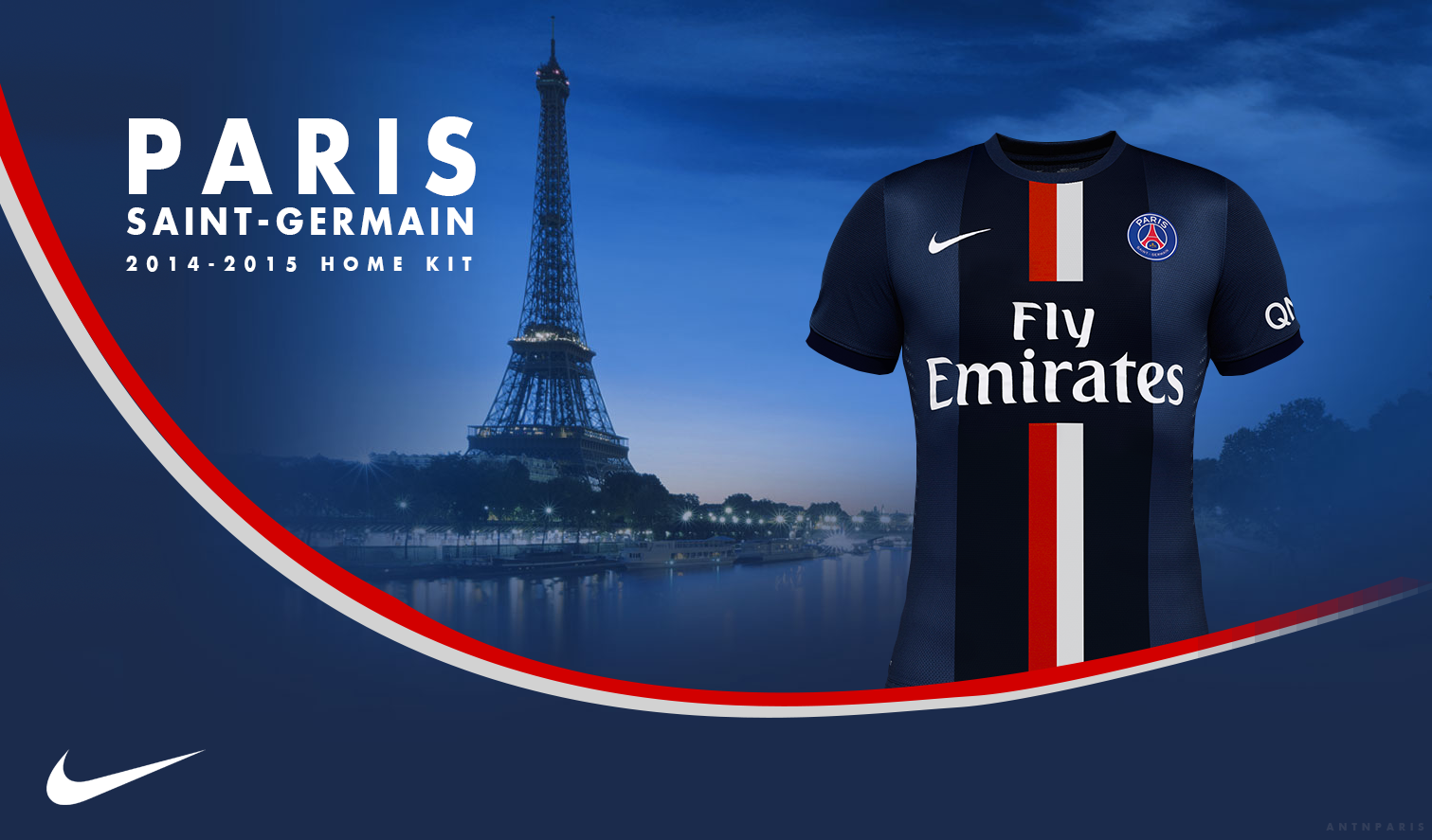 AD PSG New Home Kit 2015 by evert0z 1511x887