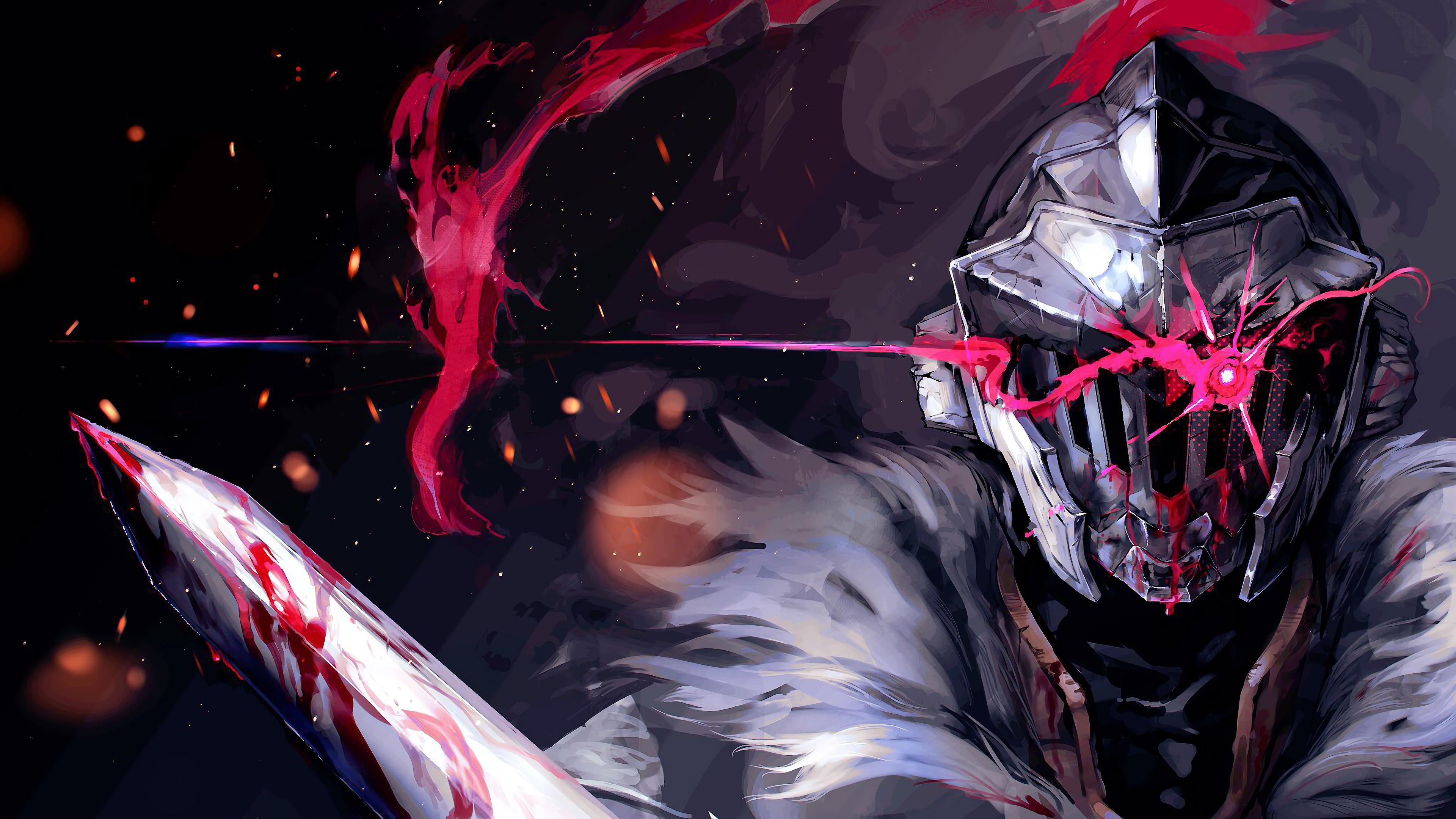 Free download Goblin Slayer Anime 4K 8K HD Wallpaper 3840x2160 for your Desktop, Mobile ...