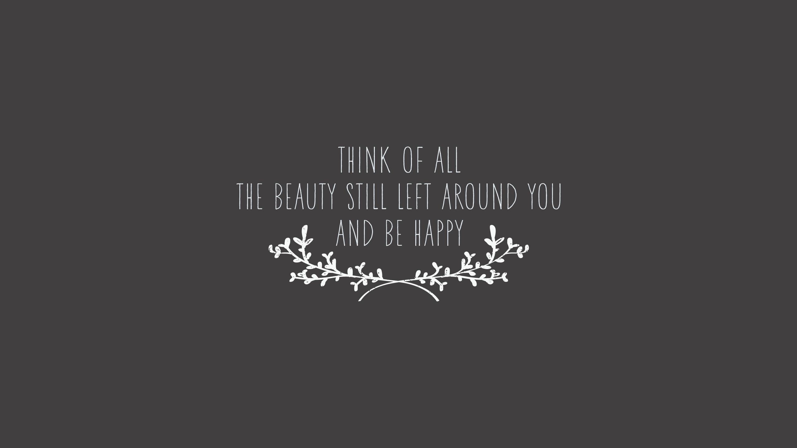2560 1440 Beautiful Quote Wallpaper 2560x1440