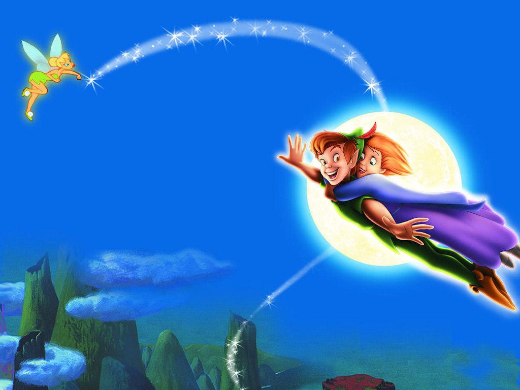 Peter Pan Fee Clochette HD Wallpaper for Mac   Cartoons 1024x768
