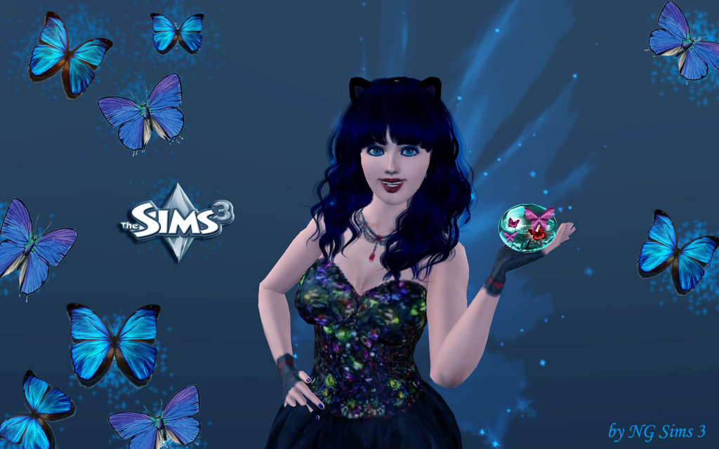the sims 3 fairy wallpaper by NGSims3 by ng9 1024x640