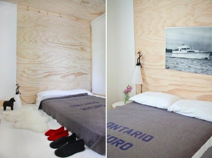 11 Wood Paneled Walls as Headboards Remodelista 733x547