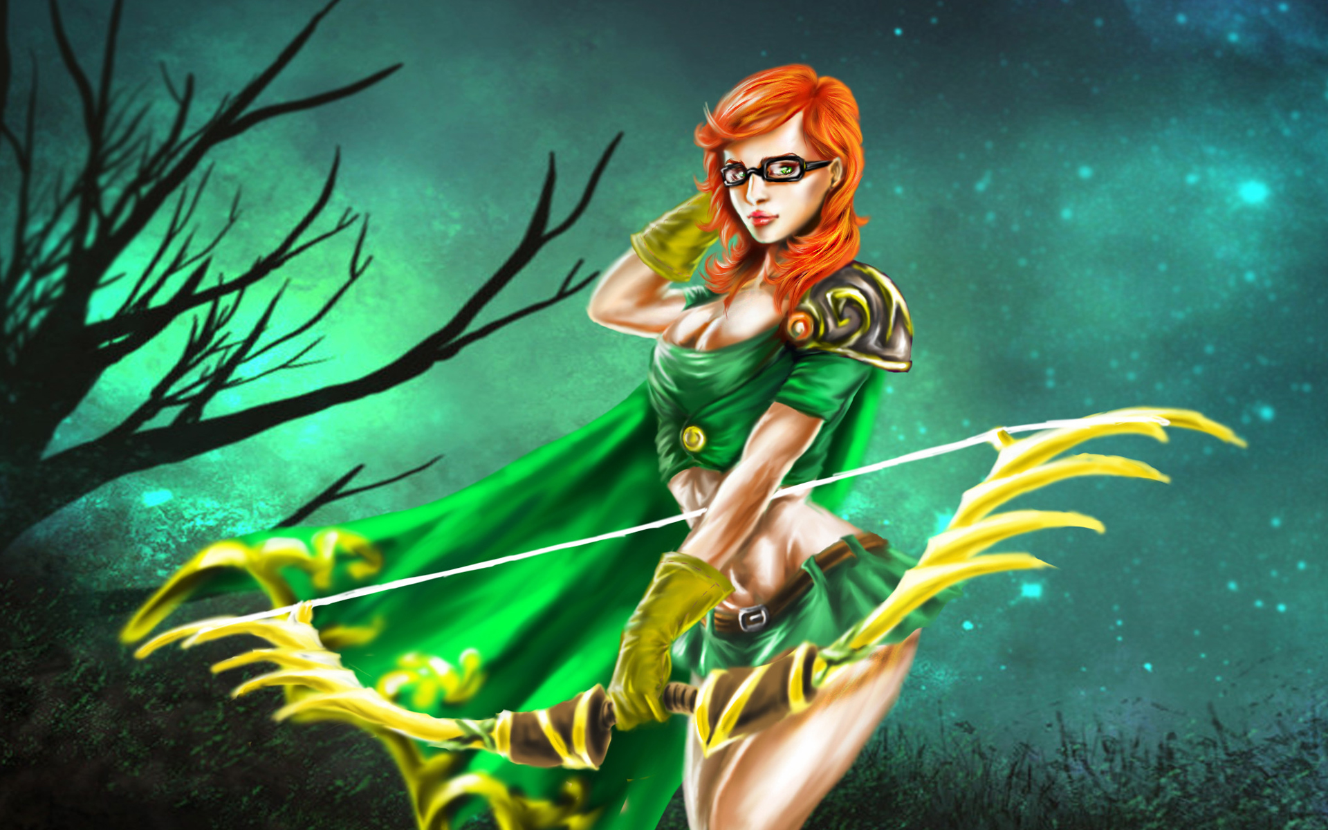 Lyralei Dota 2 3k Wallpaper HD 1920x1200