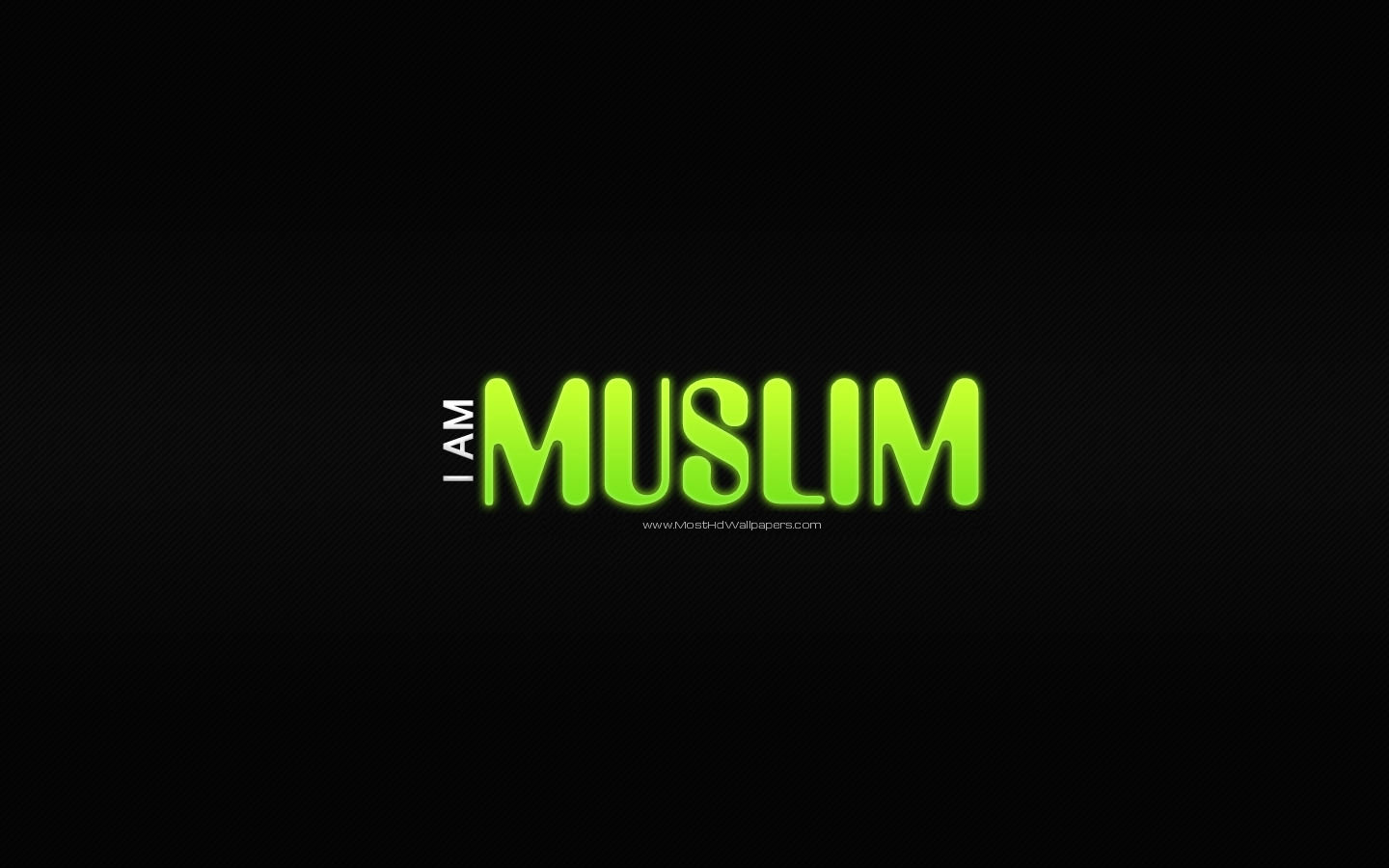 am Muslim Islamic Wallpaper Most HD Wallpapers Pictures Desktop 1440x900