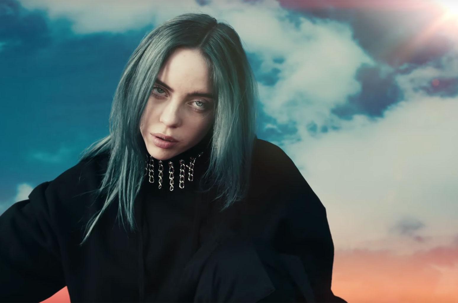 Billie Eilishs Bad Guy Video Watch Billboard 1548x1024