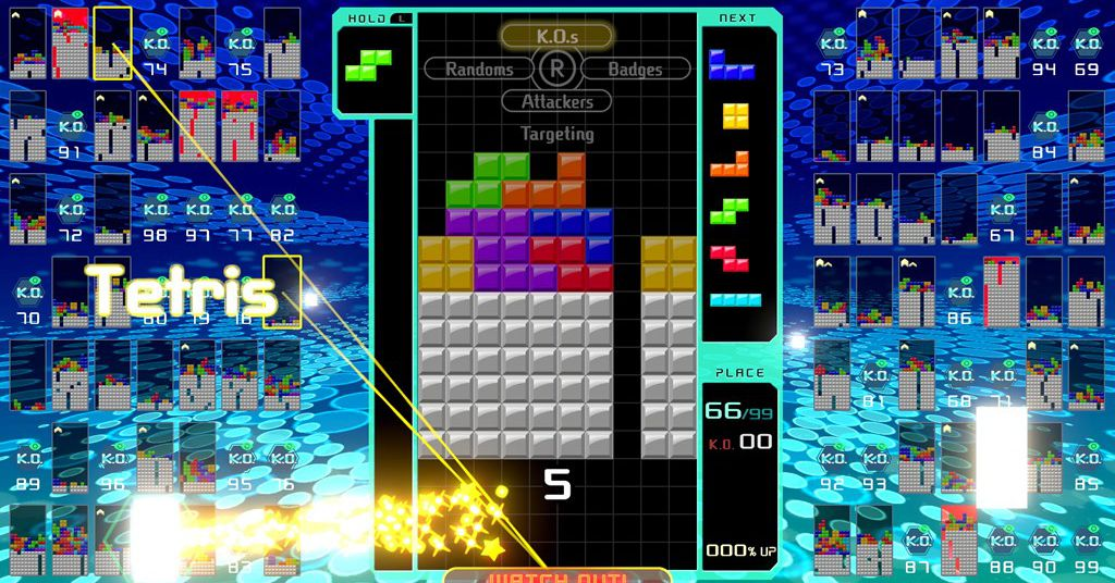 Tetris 99 is the opposite of Tetris Effect and its amazing   The 1024x536