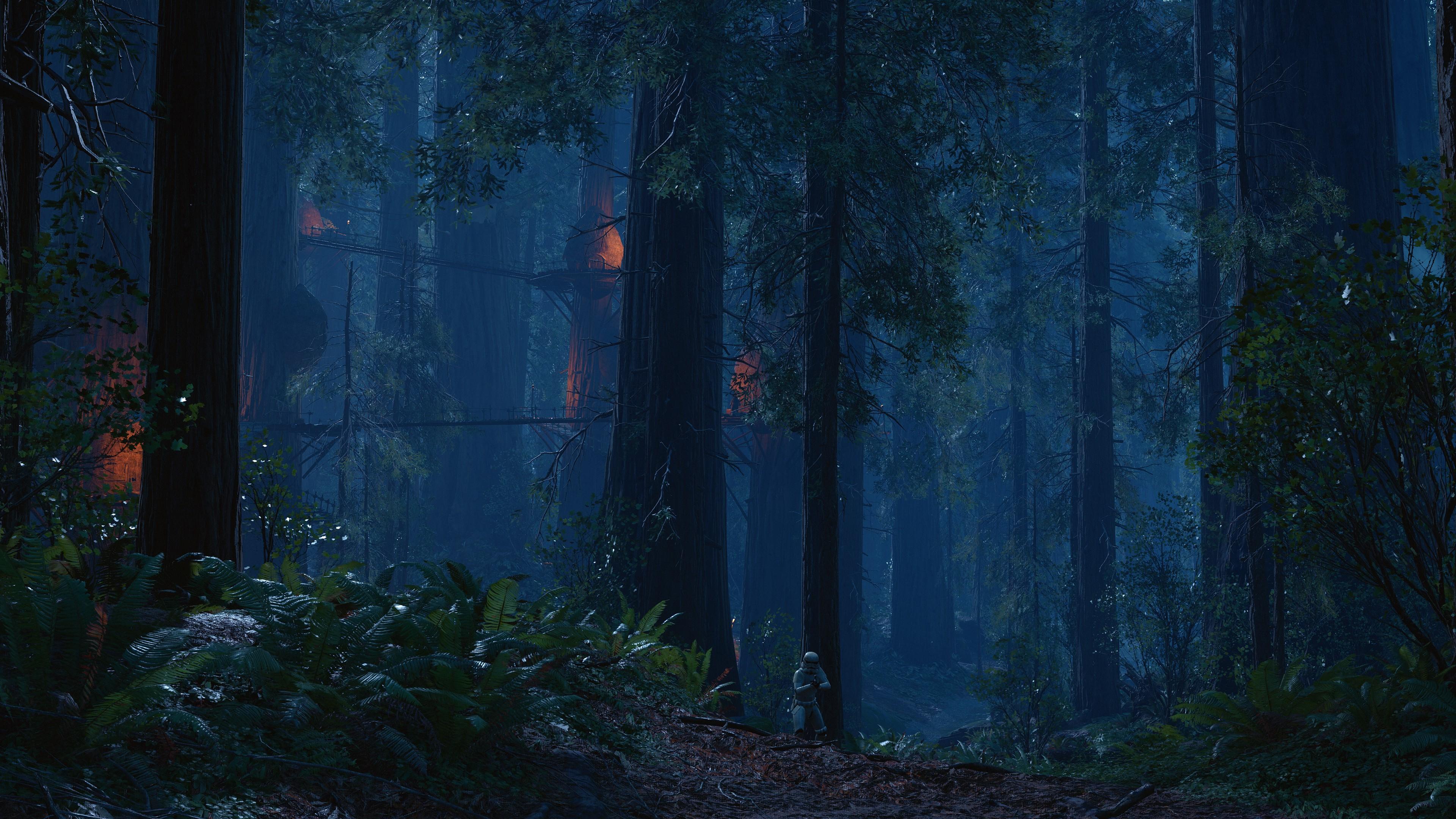 Free Download Tags 3840x2160 Px Battle Of Endor Endor Star Wars