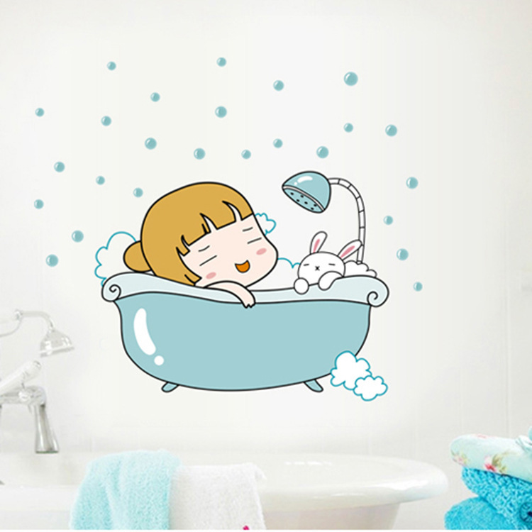 Funny Bathroom Wallpaper from China best selling Funny Bathroom 750x750