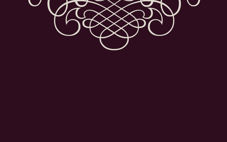 Black Cherry Scrolls Wallpaper Bionic Style 2880x1800